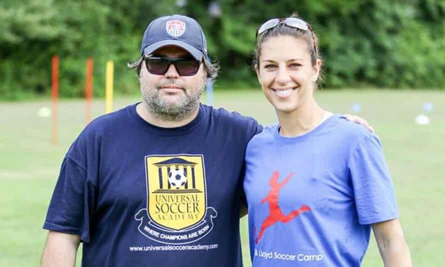Australian James Galanis has played a big part of US star Carli Lloyd's ascent to the pinnacle of her sport.
