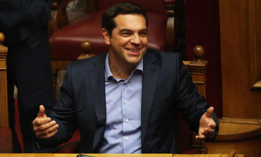 The Greek prime minister, Alexis Tsipras, has seen his popularity plummet.
