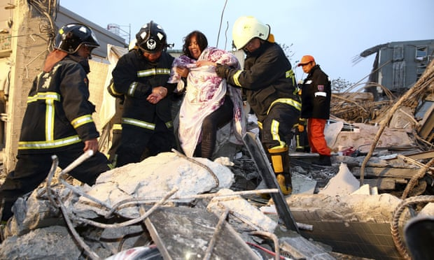 ( HOT NEWS ) Taiwan struck by magnitude 6.4 earthquake , Just Share