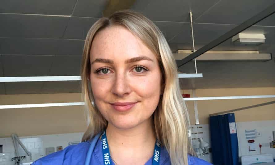 Junior doctor Rosie Hughes