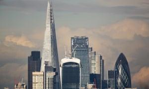 City Of London Skyline.