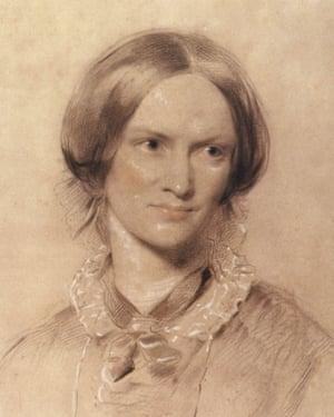Charlotte Bronte (1816-1855) ecrivain anglais, dessin par George Richmond -- Charlotte Bronte (1816-1855) englsih writer, drawing by George Richmond