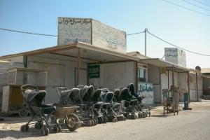 Zaatari buggies