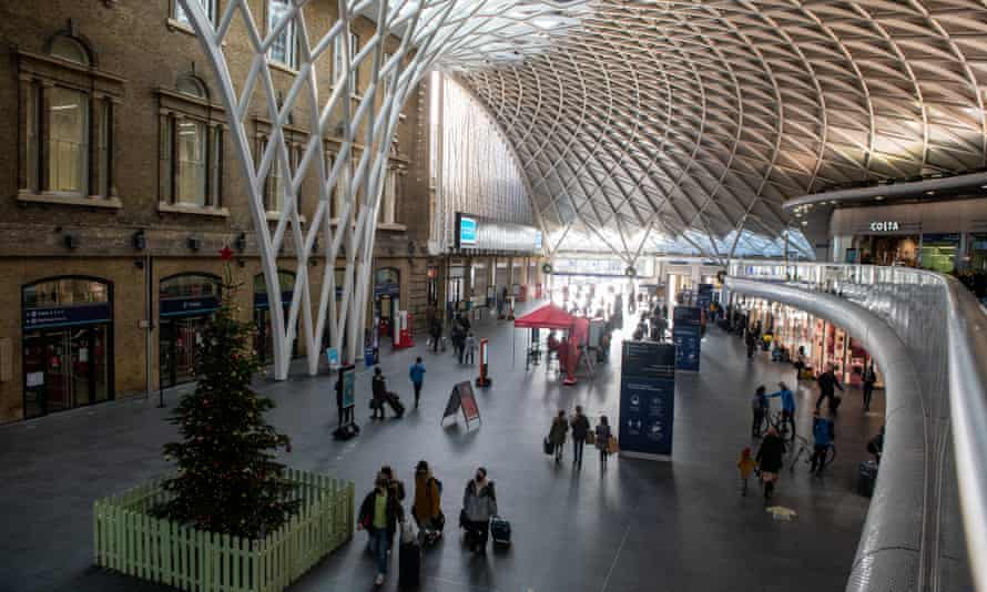 King's Cross station was already unusually quiet