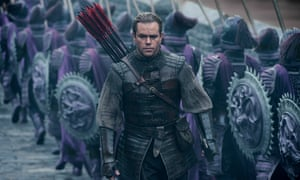 The Great Wall: Matt Damon is 'an entry point for western audienceces'.