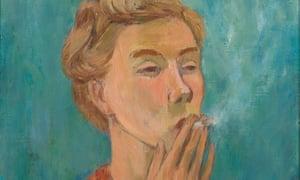 Tove Jansson, Smoking Girl (Self-Portrait), 1940