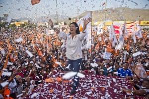 Presidential candidate Keiko Fujimori