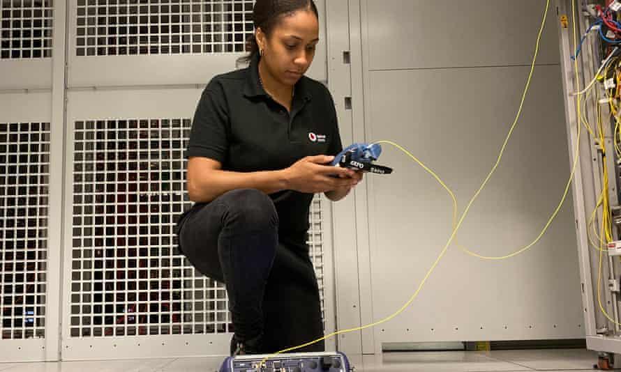 Telecoms engineer Natasha Carpenter: 'Under lockdown, it was all about increasing capacity'