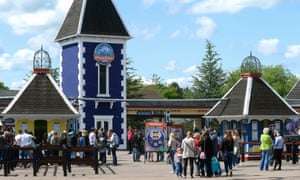 Alton Towers in Staffordshire.