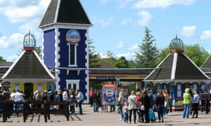The entrance to Alton Towers, owned by Merlin Entertainments.