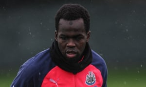 Cheick Tioté has played only 566 minutes in the Premier League this season.