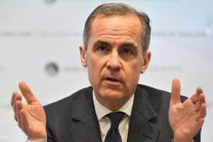 Bank of England Governor Mark Carney.