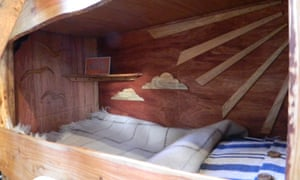 If I were a carpenter: a van interior from Rustic Campers.