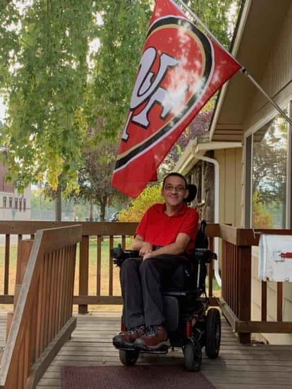 Larkin Seiler, who has cerebral palsy, depends on his home care support person for assistance with things most people take for granted, like meals and bathing.
