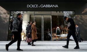 Dolce & Gabbana has cancelled its Shanghai fashion show.
