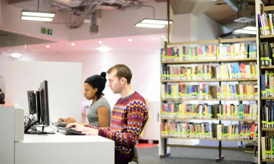 The university library has to change to keep up with the way students learn.