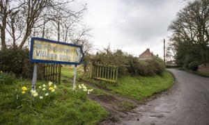A West Heslerton village sign