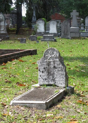 Burial site of Benjamin Cole, the great-great-great grandfather of Ben Affleck