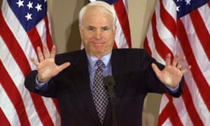 John McCain, at a speech in New Hampshire in 2000.