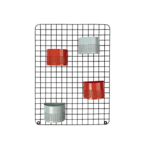 Sainsbury's Home Stockholm wire wall grid with planters, £25, sainsburys.co.uk