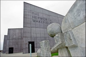 The Hepworth Wakefield houses a large permanent collection of Barbara Hepworth sculptures.