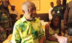 Laurent Gbagbo and his wife, Simone, after their arrest in Abidjan in 2011