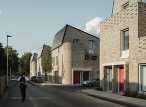 Goldsmith Street social housing in Norwich