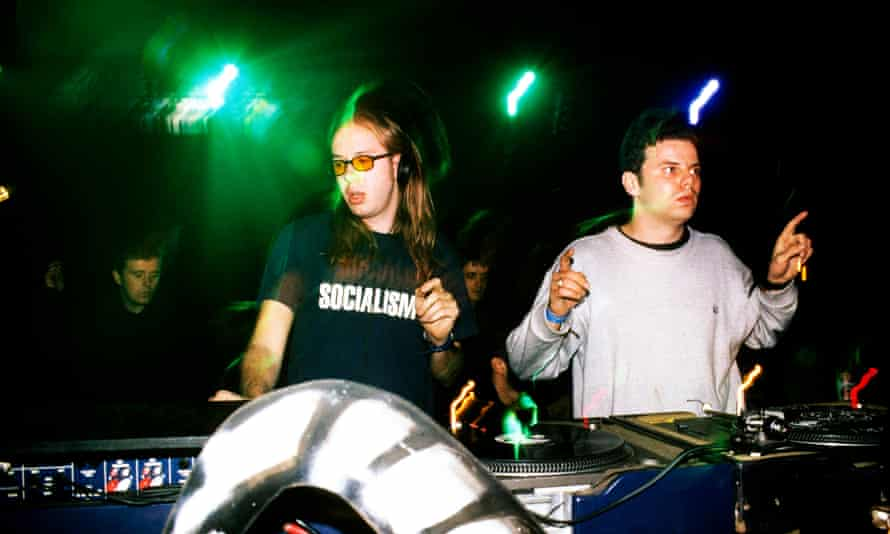 The Chemical Brothers in 1998.