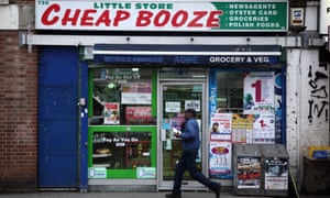 Store called Cheap Booze: cut-price alcohol is a scourge, doctors say