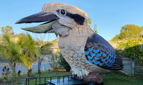 Giant kookaburra built by Australian man during lockdown: 'People adore it'