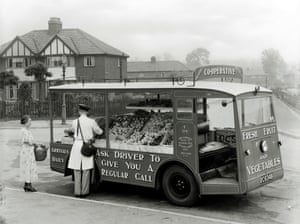 Mobile Co-op Shop, 1950's