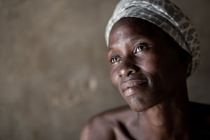 Mary, a mother of five who lives in Jinja, southern Uganda
