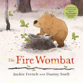 Cover image of The Fire Wombat