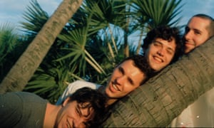 From left: Leland, Matthew, Chester and Alexander of BadBadNotGood.
