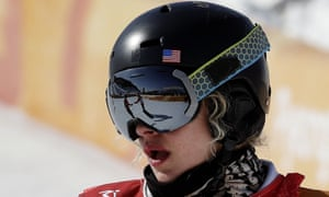 Lindsey Jacobellis finished outside the medals again on Friday