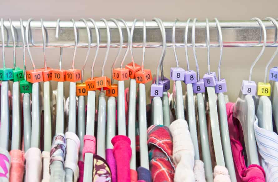 tops in sizes 8, 10, 12, 14, 16 on hangers