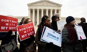 The Democratic party will introduce HR4 this week, which will restore the protections of the 1965 Voting Rights Act.