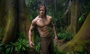 Jungle is impassive … Alexander Skarsgård.