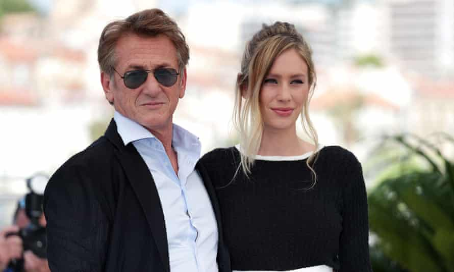 Sean and Dylan Penn at Cannes.