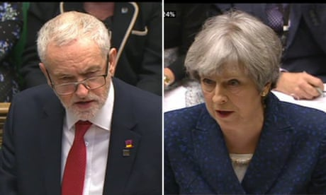 Corbyn challenges PM over 'slash and burn' cuts in council funding