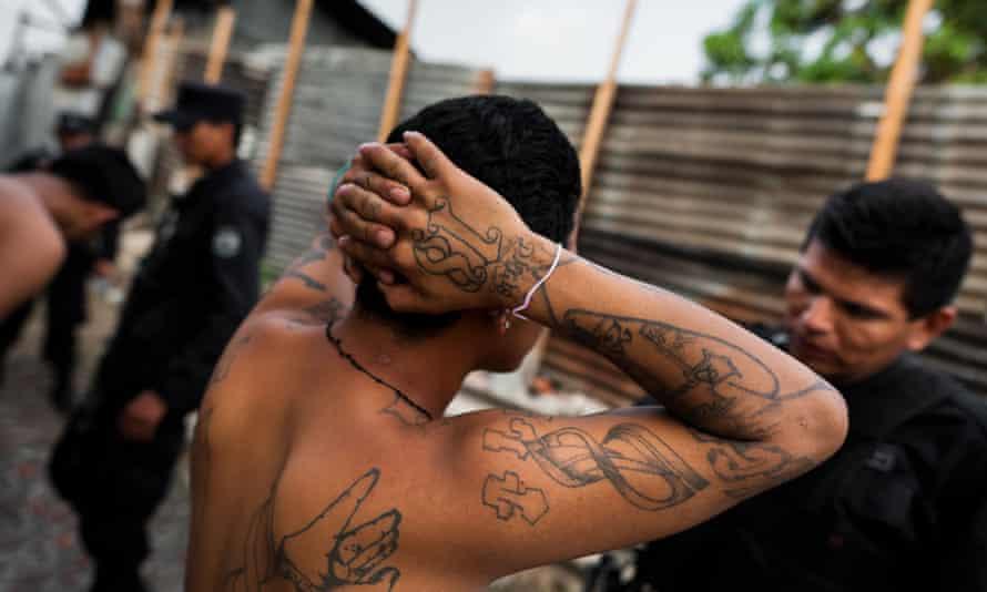 El Salvador Barrio 18