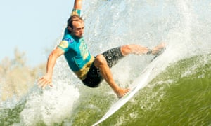 Owen Wright at the Freshwater Pro in California.
