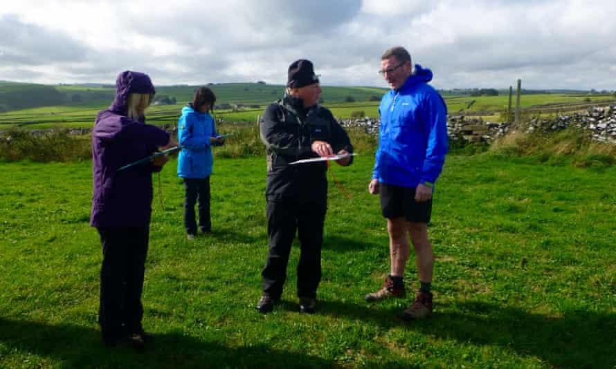Peak Navigations Courses Foolow course