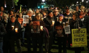 A rally in Sydney on the fourth anniversary of the introduction of offshore detention centres. As the PNG and Australian governments try to close the Manus detention centre, the situation inside the camps is growing increasingly chaotic.