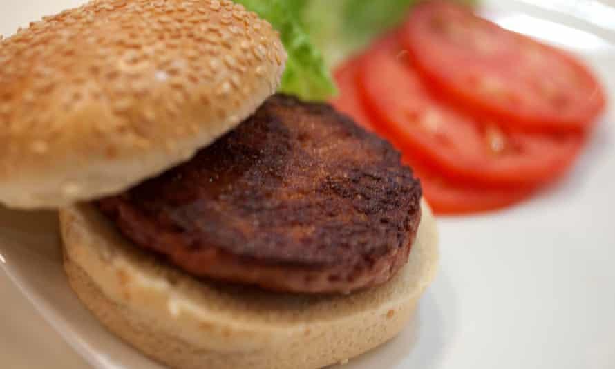 The 'Google Burger', the world's first lab-grown burger