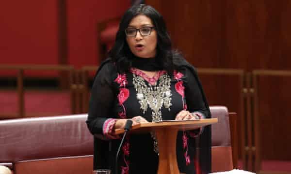 Australia's first female Muslim senator, Mehreen Faruqi, felt the full force of the network in August last year.
