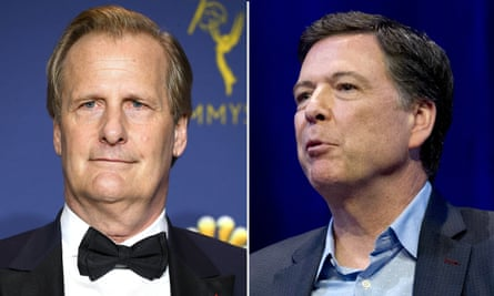 Jeff Daniels will star as James Comey, who was FBI director from 2013 until he was fired by Donald Trump in May 2017.