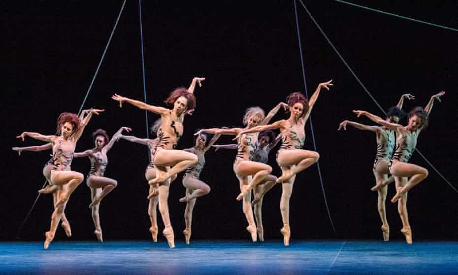 Predatory female insects … Jerome Robbins's The Cage.