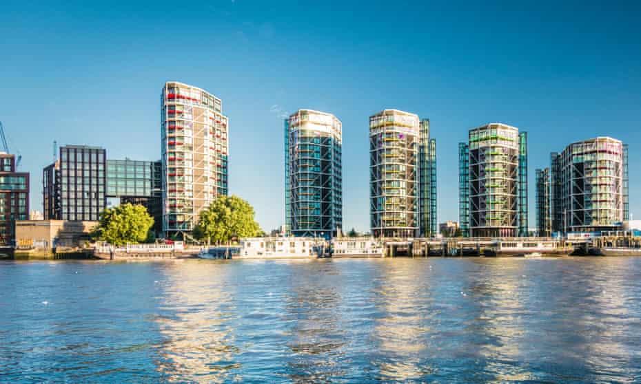 Housing in Vauxhall, London