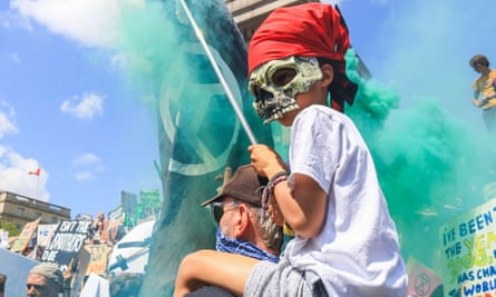 Fridays for Future climate change protest, London, UK - 24 May 2019